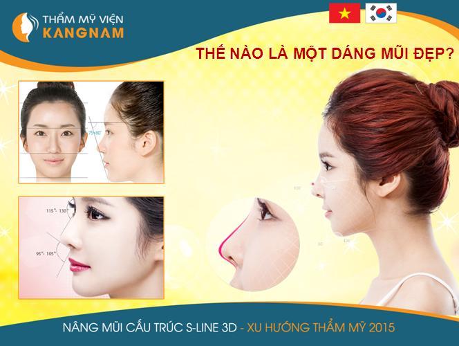 Nâng mũi S line 3D - Dẫn đầu xu thế thẩm mỹ 2015 3