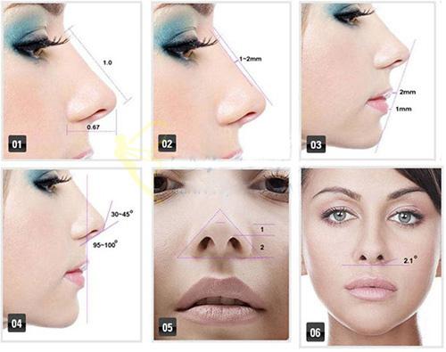 Dáng mũi như thế nào được đánh giá là đẹp hoàn hảo? 1