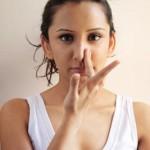 Bài tập tranh thủ cho dáng mũi cao thẳng hơn