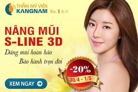 Giảm 20% Nâng mũi S line 3D - Tạo dáng mũi hoàn hảo, bảo hành trọn đời 1