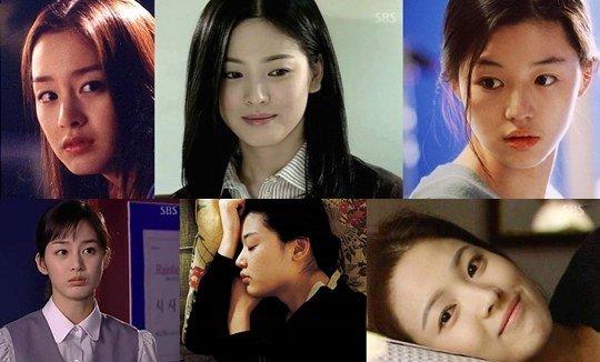 Đi tìm những ngôi sao Hàn có mũi đẹp nhất 1